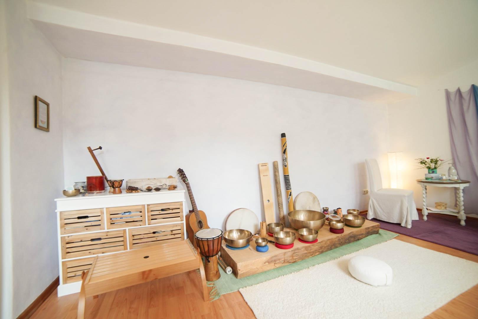 Instrumente Klangtherapie